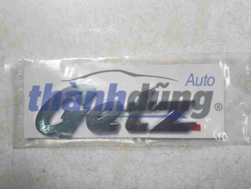 Lô gô chữ nổi Hyundai Getz