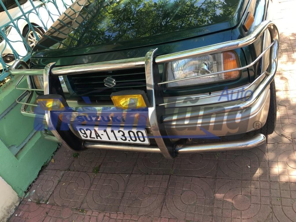 Lắp bảo vệ cản trước xe ô tô có vi phạm luật